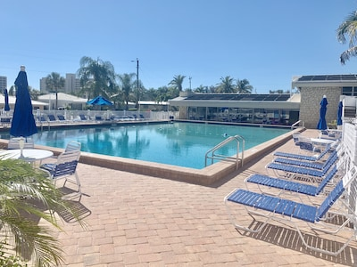 Our Private Pool/beach access directly across street (3 min walk)