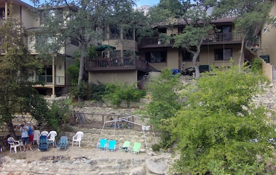 House & Beach Area