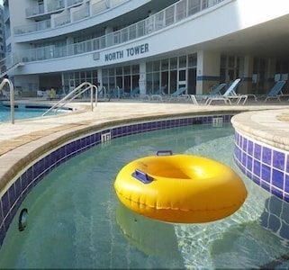 NORTH TOWER LAZY RIVER, ONE OF THE TWO LAZY RIVERS @ SEA WATCH