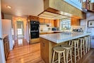 Fully Equipped Kitchen also offers Breakfast Bar area.