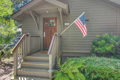 Oceanwoods Cottage, Kiawah Island, South Carolina, United States of America
