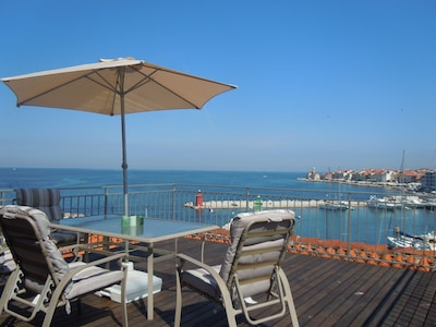 Piran Harbour, Piran, Slovenia