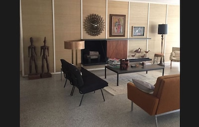 living room as you enter the house