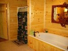 Huge Master Bath with Jetted Tub, Separate Shower, Dual Sinks