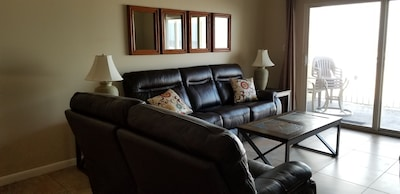Living room with 4 recliners