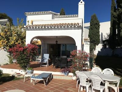 Villa and patio