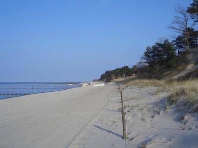 Zempin - Strand im Frühjahr