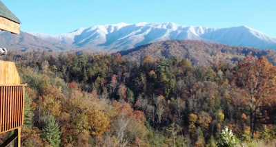 Mt. LeConte View from Deck