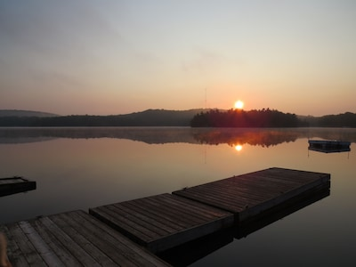 Stunning Private Island on beautiful Clear Lake just minutes from Huntsville