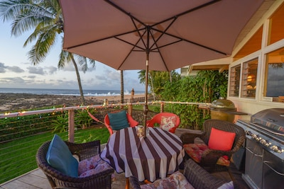 Sunsets are amazing from this location, perched out further for panoramic views