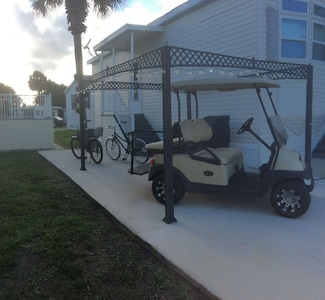 2012 Golf Cart for our guests.