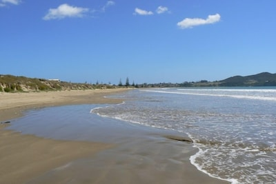 Gorgeous Tokerau Beach looking north