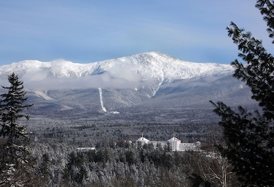 View of Mount Washington and Hotel from Master Bedroom