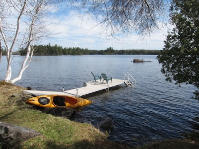 We have kayak, canoe, or paddle board for you to use