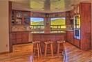Kitchen with a billion dollar view