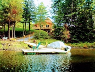 Steinmetz Lodge and Dock