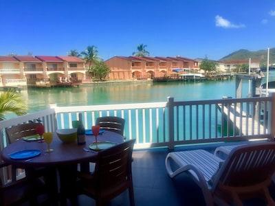 Plage de Jolly, Jolly Harbour, Saint Mary, Antigua-et-Barbuda