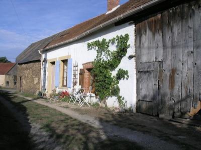 Stargazer ist ein typisches Berrichone-Landarbeiterhaus.