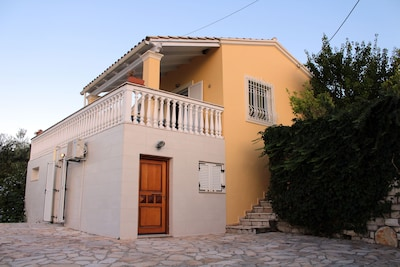 Villa Diana entrance