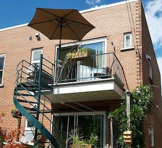 Appartement avec balcon côté jardin