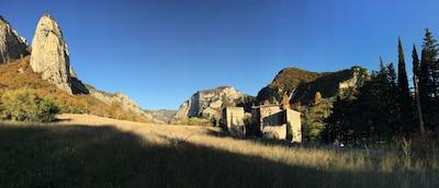Donjon de Lastic - Vue Ouest
