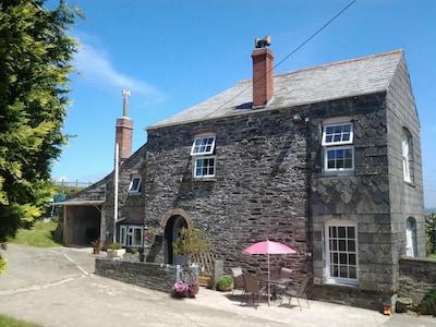 A  Traditional Farmhouse.