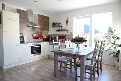 Lichtdurchflutete Wohnküche