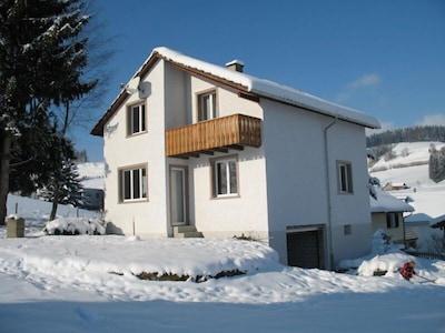 Ferienhaus Lahr im Winter 02
