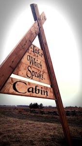 """Prairie Cabin Of The Lac Qui Parle """"Lake Which Speaks"""""""