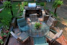 Grill, chill, eat & have fun. More chairs and tables available.