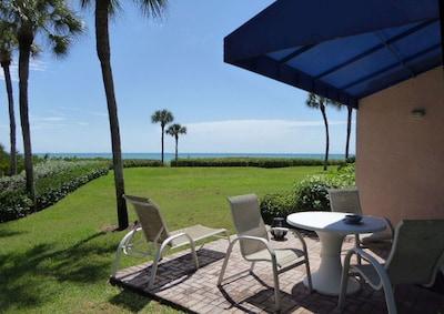 patio at the beach