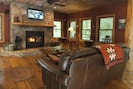 Relax by the Wood Burning Fireplace - Firewood provided!