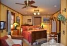 Arcata Stay's Rose Court Cottage studio vacation rental interior main room