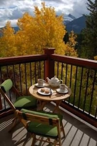 Autumn views from the balcony