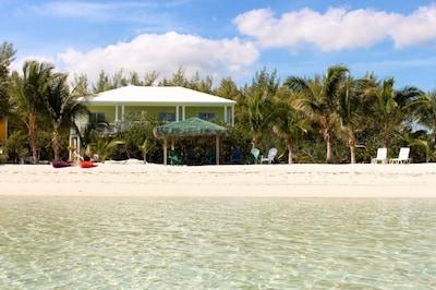 Key Lime Beach House beachside.