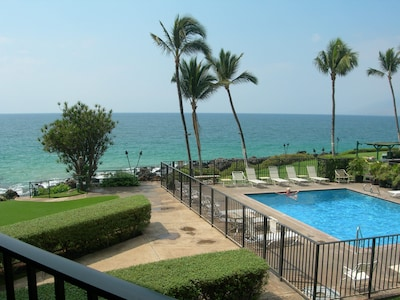 View from the private lanai of KS206