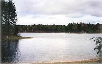 Powell Lake, View From Lake Front Elevation