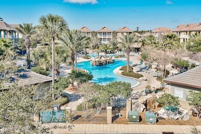 30,000 sq. ft. lagoon style community pool