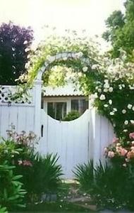 Entrance to Reed Rose Cottage
