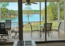 screened in porch off living and dining area
