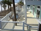 wrap around decks with room to grill out, dine, lounge and observe the vast beach life.