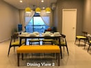 Cenic @ Tamara Residence Putrajaya Dining Area