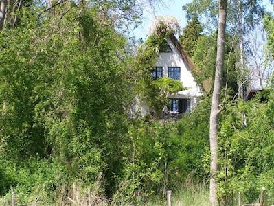Blick auf das Haus Terrassenseite