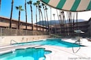 Fabulous pool and 12-person jacuzzi, heated year round!