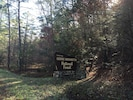 Drive through the George Washington National Forest to reach Highland Nest Cabin