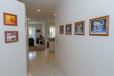 A bright, cheery entrance leads to the main living area