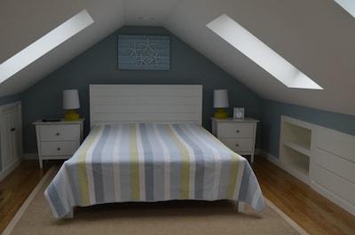 Bedroom loft upstairs.