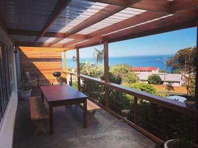 Balcony overlooking Atlantic Ocean
