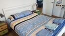 bedroom 1. queen bed