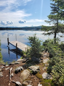 Dock w/view of Back Lake